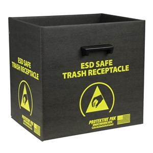 37810-TRASH RECEPTACLE, INCL HANDLES & WIRE 13-1/2 x 12 x 13-1/4 IN