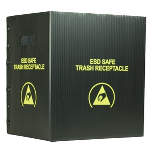 37816-TRASH RECEPTACLE, SMALL, 12-1/2''x10''x14'', 10 GAL