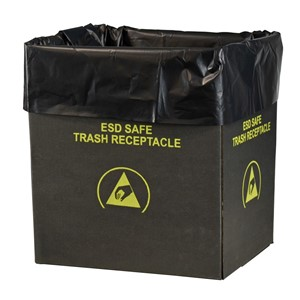 37820-LINER, TRASH CAN, STATIC DISS. 2.0 MIL, 26 x 24 , 50 PER PACK
