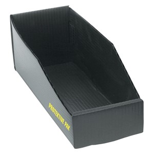 38904-BIN BOX, OPEN, PLASTEK , 18 x 4 x 4 IN