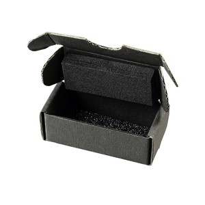 SMALL COMPONENT SHIPPER, BLACK FOAM TOP/BOTTOM, 7x3-1/2x1