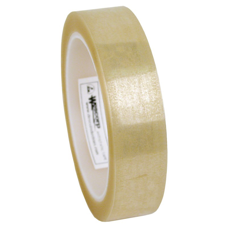 46905-WESCORP ESD TAPE, CLEAR 72 YDS, 1 IN, 3 IN CORE