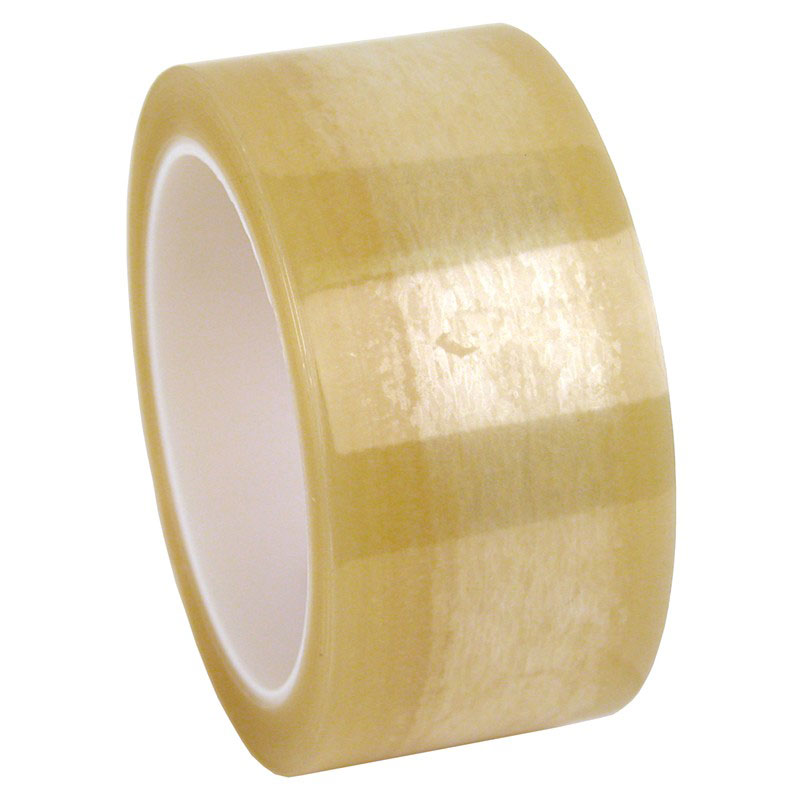 WESCORP ESD TAPE, CLEAR 72 YDS, 2 IN, 3 IN CORE