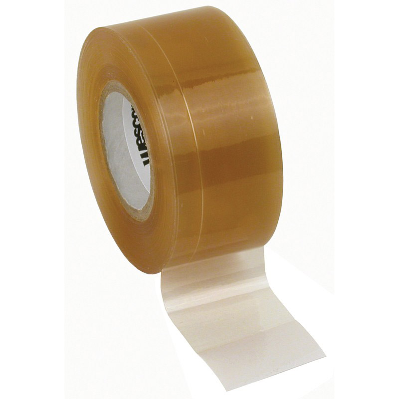 WESCORP ESD TAPE, CLEAR 1IN x 36YDS, 1IN PAPER CORE