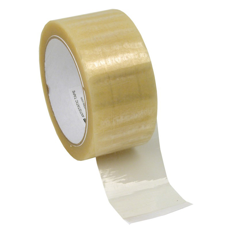 46926-WESCORP ESD TAPE, CLEAR 2IN x 72YDS, 3IN PAPER CORE