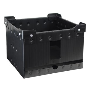 47206-REEL STORAGE, VERTICAL, W/ STACKING CORNERS, 13''
