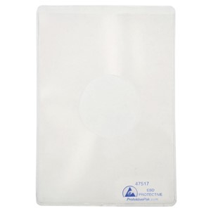 47517-DOCUMENT HOLDER, ESD, STATIC DISS, 4-1/2IN x 6-1/2IN, 25 PK