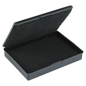 57000-BOX, CONDUCTIVE, WITH FOAM 1.3'' x 1.3'' x 0.46'', MOLDED