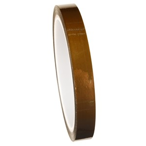47027-WESCORP ESD TAPE, POLYIMIDE, HI TEMP, 1/2 IN x 36 YDS