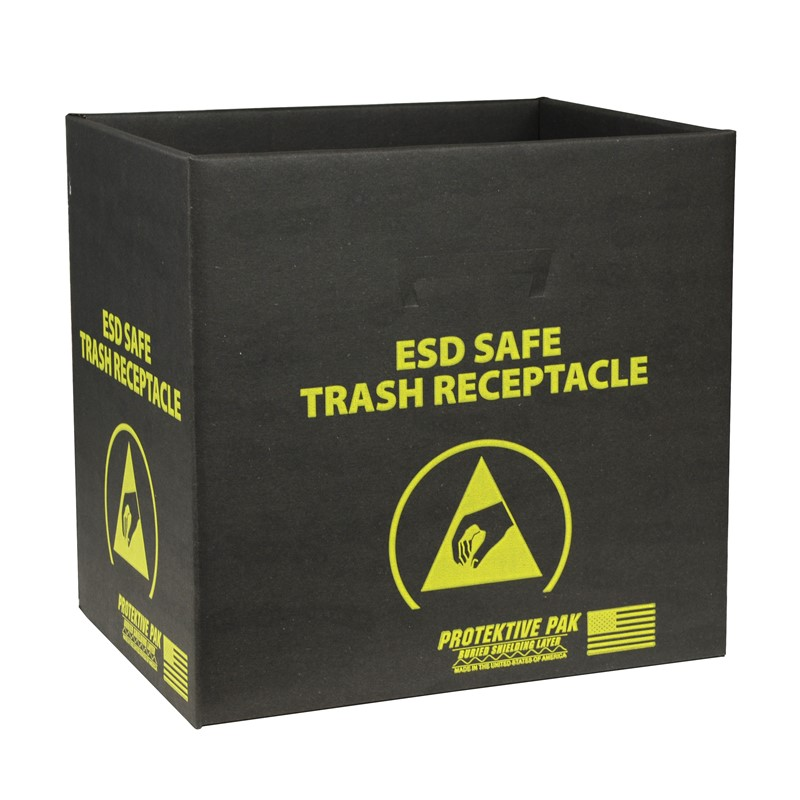 37811-TRASH RECEPTACLE, BOX ONLY 13-1/2 x 12 x 13-1/4 IN
