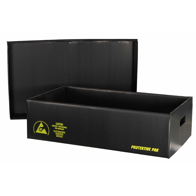39305-PLASTEK SHIPPING SAVER STORAGE CONTAINER,18-3/8x12-3/8x17-1/8