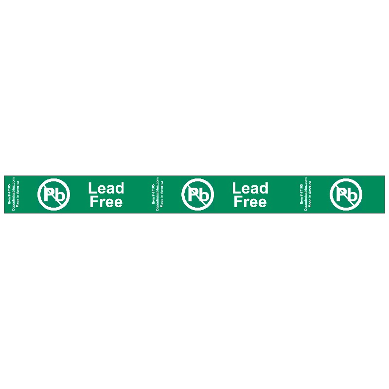 47105-TAPE, MARKING, LEAD-FREE, 1 IN x 360 FT