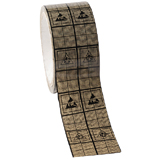 WESCORP ESD TAPE, SHIELDING GRID, 118 FT 2''